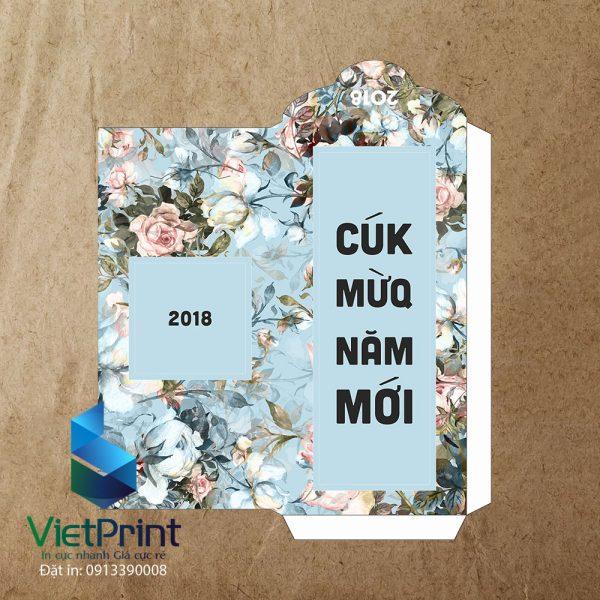 Bao lì xì giấy kraft 2019