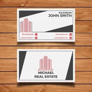 in danh thiếp bất động sản, name card bds