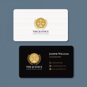 in danh thiếp luật sư, vp luật, name card luật